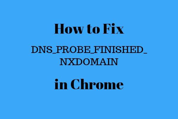 Cara Mengatasi DNS_PROBE_FINISHED_NXDOMAIN di Chrome